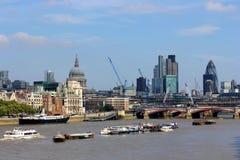 Development in London Royalty Free Stock Photos