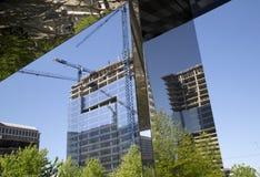 Development modern city Dallas TX Royalty Free Stock Photo