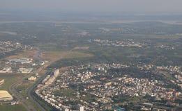 Development of modern city Stock Image