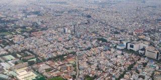 Development of modern city Stock Photos