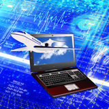 Development Of The Aviation Industry Royalty Free Stock Photo