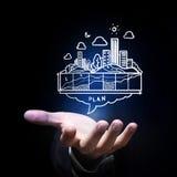 Development project Stock Image