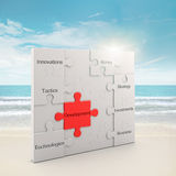 Development  puzzle concept Stock Photography