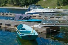 Development of river fleet Stock Photo