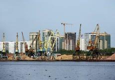 Development of sand Stock Photo