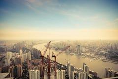 Development in shanghai Stock Photo