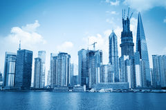 Development of shanghai Stock Image
