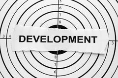 Free Development Target Royalty Free Stock Photography - 22473157