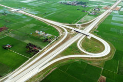 Development of Trans Sumatra Toll Road Royalty Free Stock Images