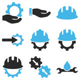 Development Vector Icon Set Royalty Free Stock Photos