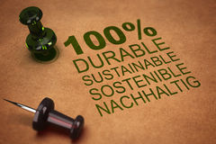 Developpement sostenible Fotos de archivo
