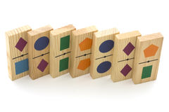 Develops wooden toy Stock Photography