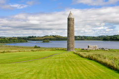 Devenish Island Monastic Site, Northern Ireland Royalty Free Stock Photography