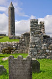 Devenish Island Monastic Site, Northern Ireland Stock Images