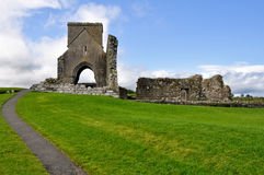 Devenish Island Monastic Site, Northern Ireland Royalty Free Stock Photo