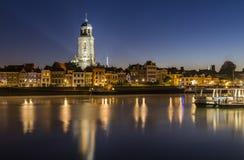 Deventer i morgonen Royaltyfri Fotografi