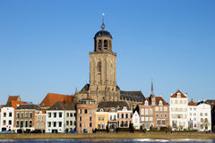 Deventer - The Netherlands. City view of Deventer, The Netherlands Stock Image