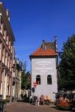 Deventer olandese storico della città della costruzione Fotografia Stock Libera da Diritti