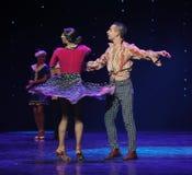 Devenu immédiatement le meilleur de la danse du monde de l'Autriche d'amis-le photographie stock