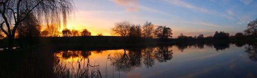 Dever balza il Hampshire Fotografie Stock