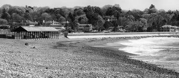 Deveraux Beach. This is a view of Deveraux Beach in Marblehead, MA stock photos