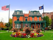 The Deveraux Mansion Heritage Gardens, Salt Lake City Royalty Free Stock Photos