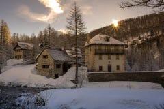 Devero d'Alpe photographie stock libre de droits