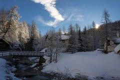 Devero d'Alpe photo libre de droits