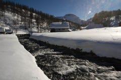 Devero di Alpe Fotografie Stock