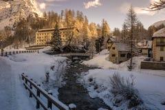 Devero di Alpe Fotografia Stock