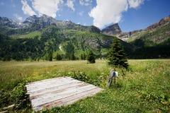 Devero di Alpe Immagini Stock Libere da Diritti