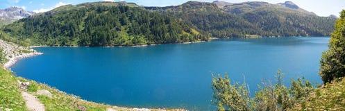 devero jezioro Zdjęcia Stock