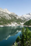 Devero Lake, spring season - Italy Stock Photo