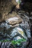 Devetashka洞,保加利亚 免版税库存照片