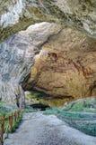 Devetashka cave interior near city of Lovech Stock Photo
