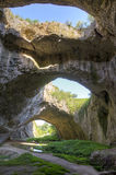 Devetashka grotta Royaltyfria Foton