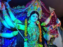 Devi de Durga imagem de stock