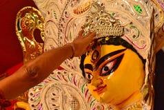 Devi Durga Royalty-vrije Stock Foto
