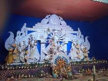 Devi Durga Goddess royaltyfri bild