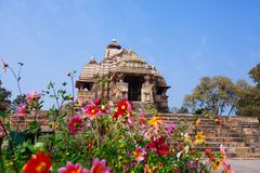 Devi Jagdambi Temple, dedicated to Parvati, Western Temples of K Royalty Free Stock Image
