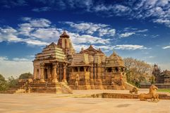 Devi Jagdambi Temple, Khajuraho, India Stock Photography