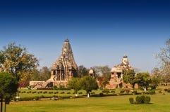 Devi Jagdambi Temple, Khajuraho, India Royalty Free Stock Photography