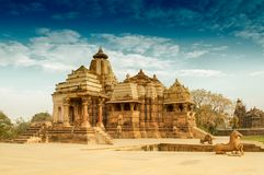 Devi Jagdambi Temple, Khajuraho, India Royalty Free Stock Image