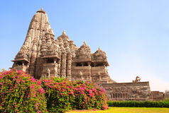 Devi Jagdambi Temple, Western Temples in Khajuraho, India Royalty Free Stock Photos