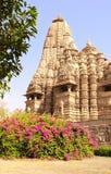 Devi Jagdambi Temple, Western Temples in Khajuraho, India Royalty Free Stock Images