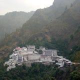 devi Jammu del vaishno por la opinión de la mañana del kattra fotografía de archivo