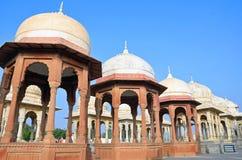 Devi Kund. Royal crematorium in Bikaner,India Stock Photo