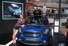 Deviazione standard di Mini Cooper dell'automobile Fotografie Stock