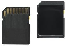 Deviazione standard-Scheda (entrambi i lati) fotografia stock libera da diritti