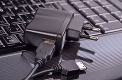 Device for charging via USB Royalty Free Stock Images